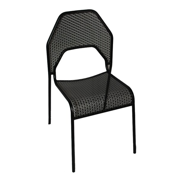 Ribeiro Stackable Patio Dining Chair by Wrought Studio