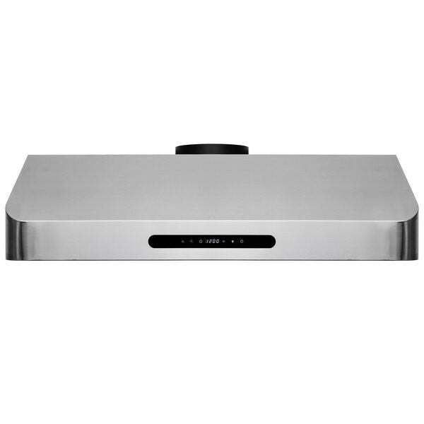 30 567 CFM Ducted Under Cabinet Range Hood by AKDY