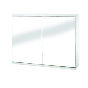 Affordable Mangan 23.6 x 17.7 Surface Mount Frameless Medicine Cabinet with 1 Adjustable Shelf ByOrren Ellis