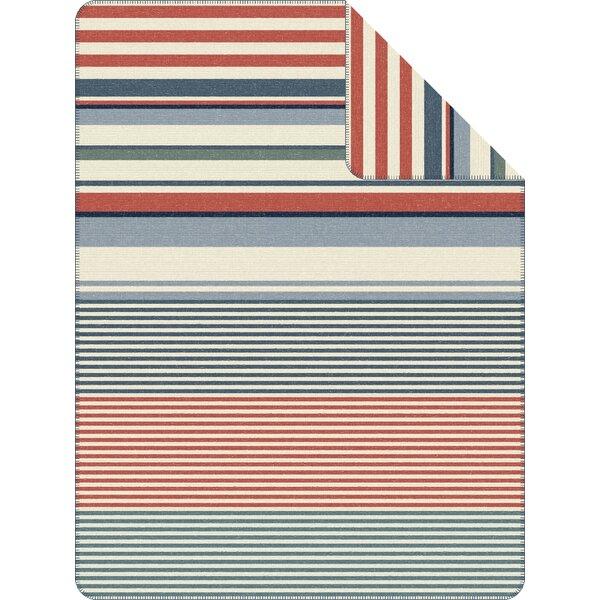 Americano Stripe Throw by Ibena