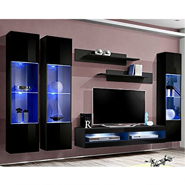 FLYCD3 Floating Entertainment Center For TVs Up To 70