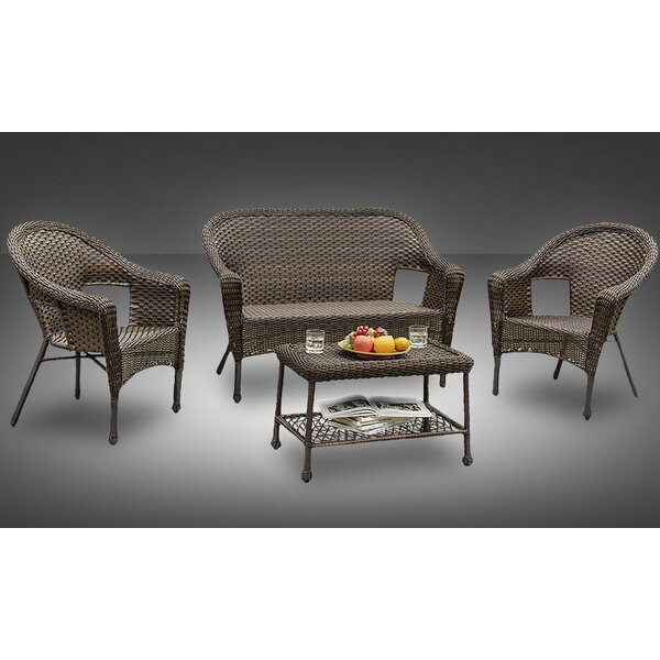 Sophia 4 Piece Sofa Set by Best Desu, Inc.