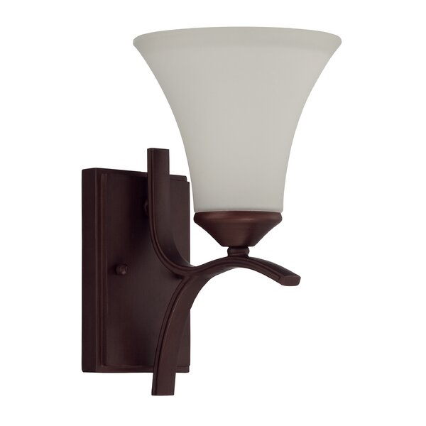 Sterling 1-Light Wall Sconce by Red Barrel Studio