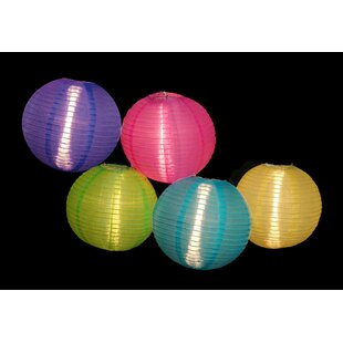Read Reviews 5-Light 9 ft. Lantern String Lights By Sienna Lighting