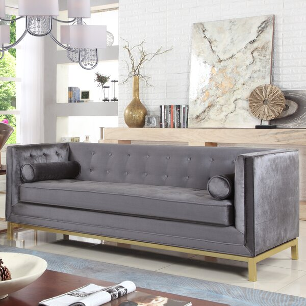 Modern Collection Pratik Sofa by Everly Quinn by Everly Quinn