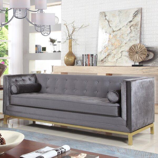 Modern Brand Pratik Sofa by Everly Quinn by Everly Quinn