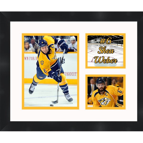 Shea Weber 6 Nashville Predators Photo Collage Picture Frame by Frames By Mail