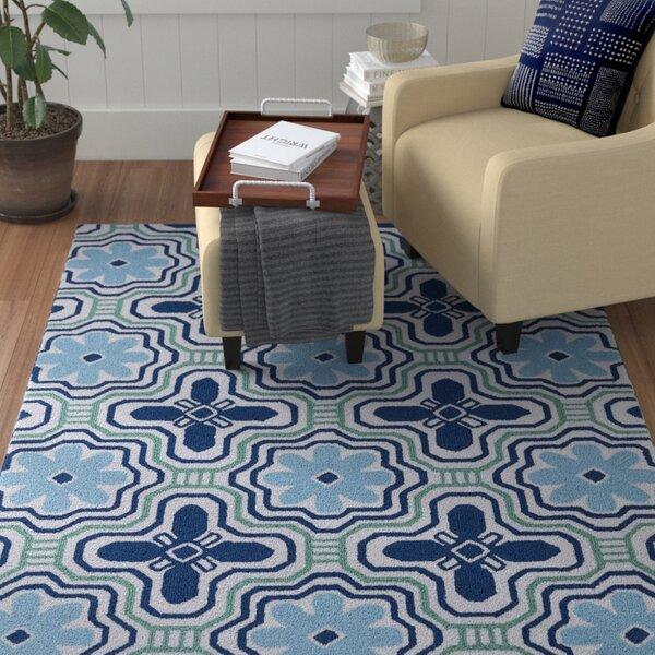 Bette Blue Indoor/Outdoor Rug I by Winston Porter