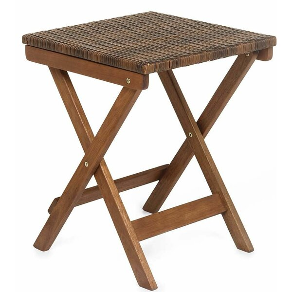 Claytor Solid Wood Side Table by Plow & Hearth
