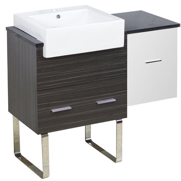 Bathurst 37 Single Bathroom Vanity Set by Orren Ellis