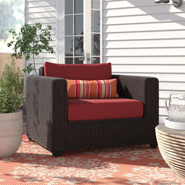 Fairfield Patio Chair with Cushions by Sol 72 Outdoor