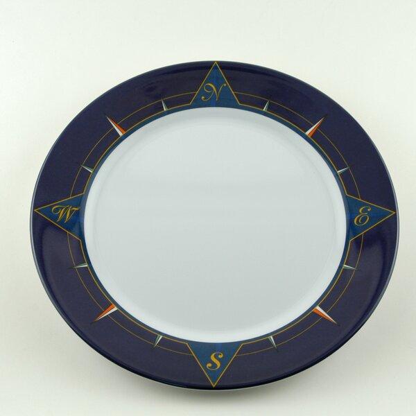 Decorated 10 Melamine Non-skid Dinner Plate (Set o