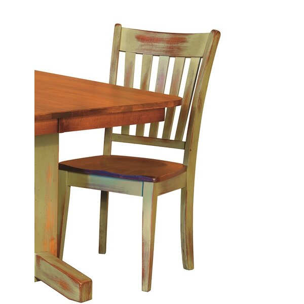Bayliss Solid Wood Dining Chair by August Grove