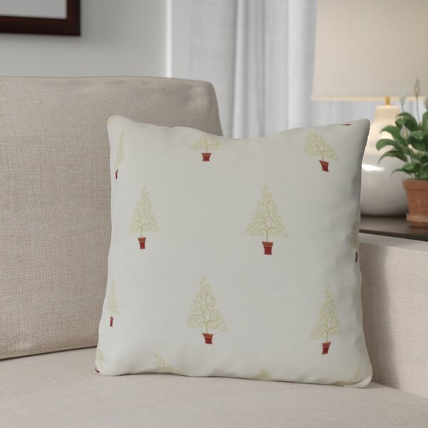 Filigree Forest Throw Pillow by The Holiday Aisle