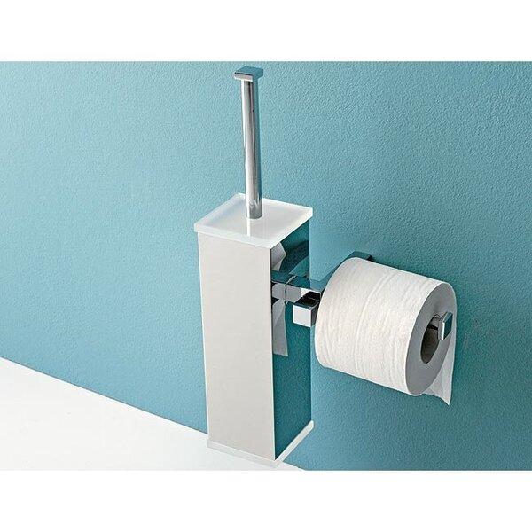 Eden Wall Mounted Toilet Brush Set