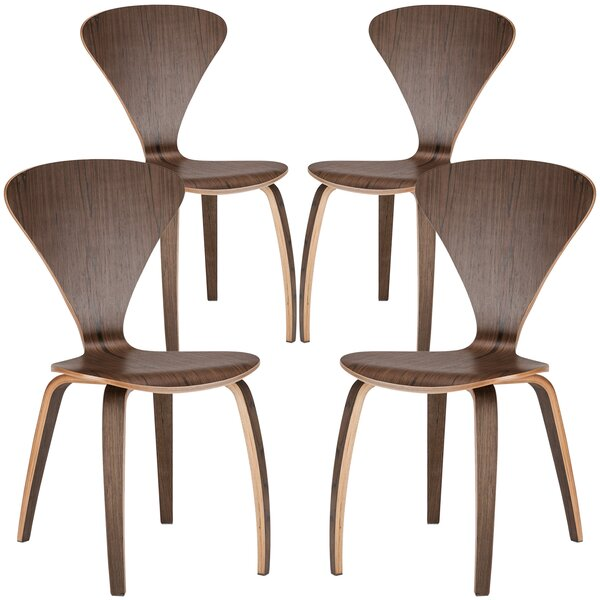 Sofia Solid Wood Dining Chair (Set of 4) by Edgemod