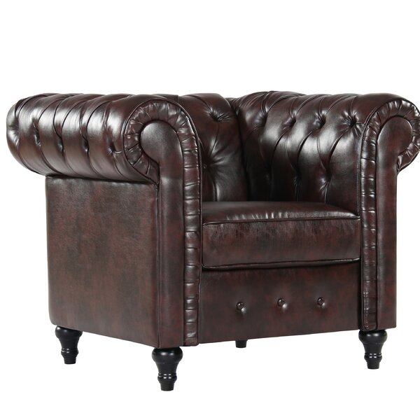 Teressa Chesterfield Chair by Darby Home Co