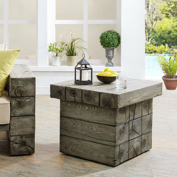 Novalee Manufactured Wood Side Table By Millwood Pines