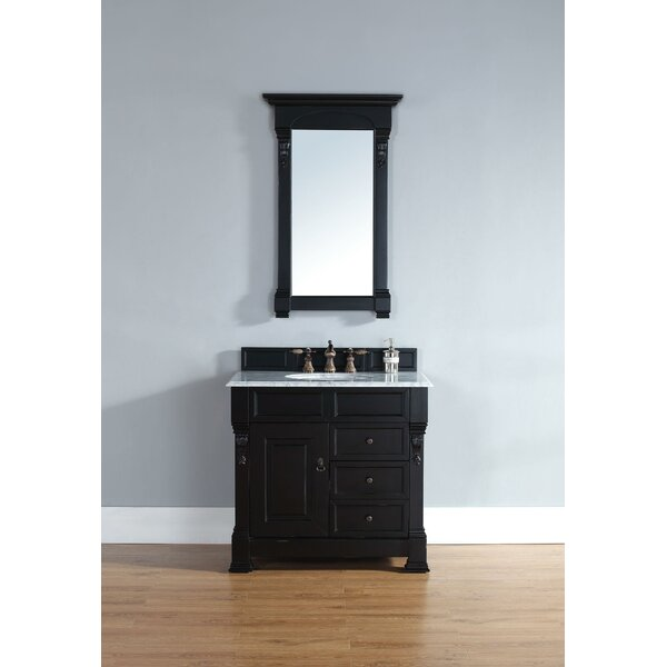 Bedrock 36 Single Bathroom Vanity Set with Drawers by Darby Home Co