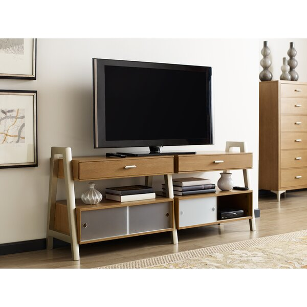Review Hygge Solid Wood TV Stand For TVs Up To 70