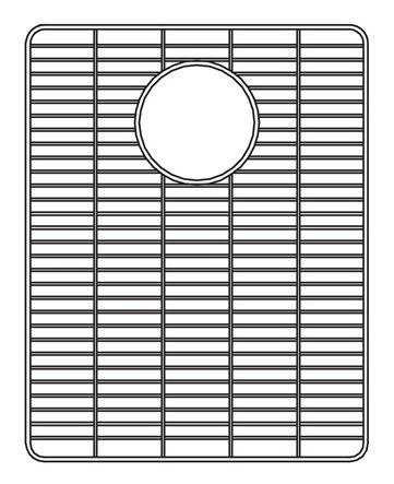 Wirecraft 13 x 17 Bottom Grid by Houzer