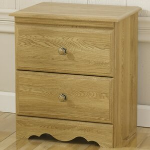 Oak Creek �2 Drawer Nightstand by Lang Furniture
