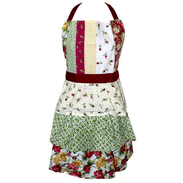 Rose Kiss Apron by Homewear Linens