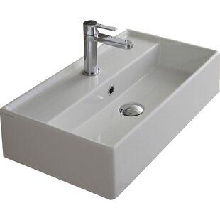 Marvelous Bathroom Modern Sink Modern Ceramic Rectangular Vessel Bathroom  Sink.jpg