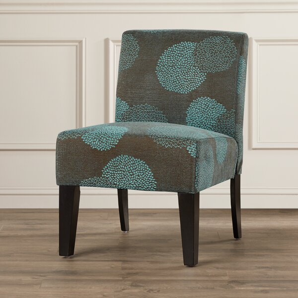 Loring Slipper Chair by Andover Mills