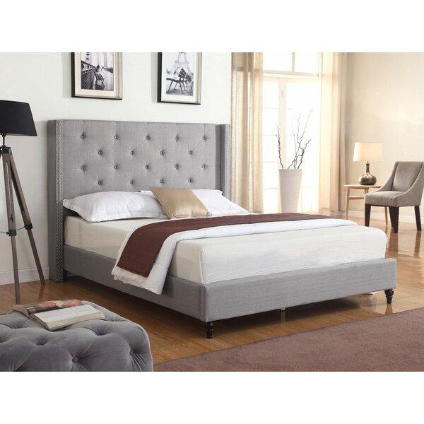 Priestley Upholstered Platform Bed by Winston Port