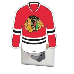Great Price NHL Glass Night Light By Team Sports America