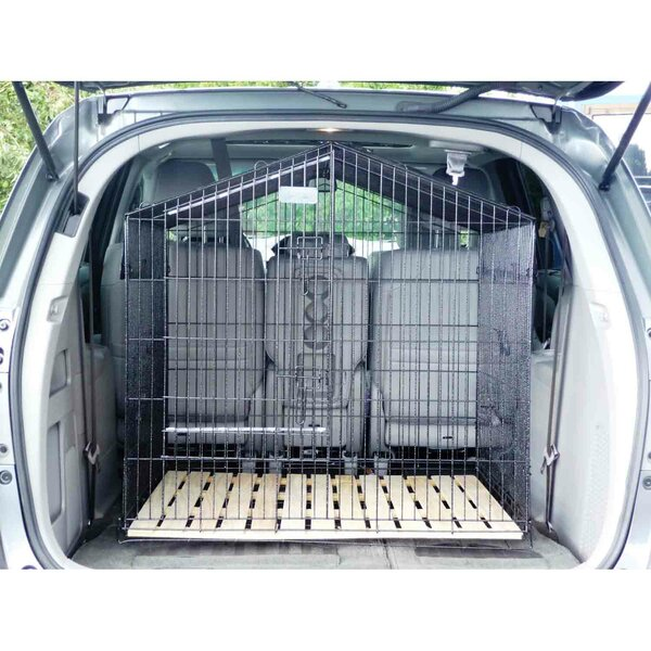 Lucky Dog Travel Steel Yard Kennel by Jewett Cameron