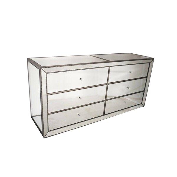 Gillis 6 Drawer Double Dresser by Rosdorf Park