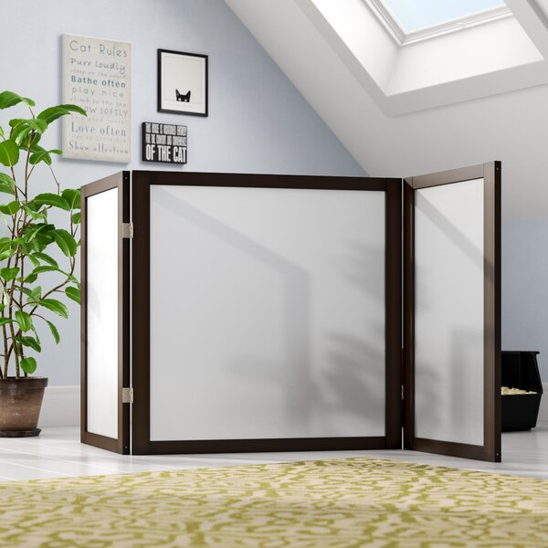 Lakeview Atlanta 3 Panel Room Divider by Tucker Murphy Pet