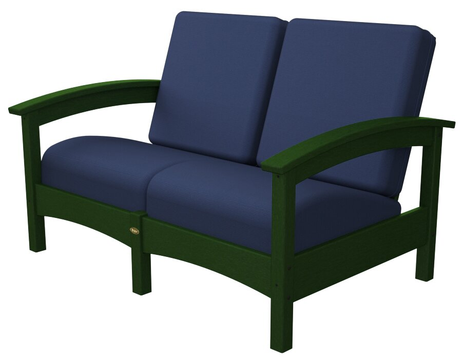 Rockport Club Deep Seating Sofa with Cushions
