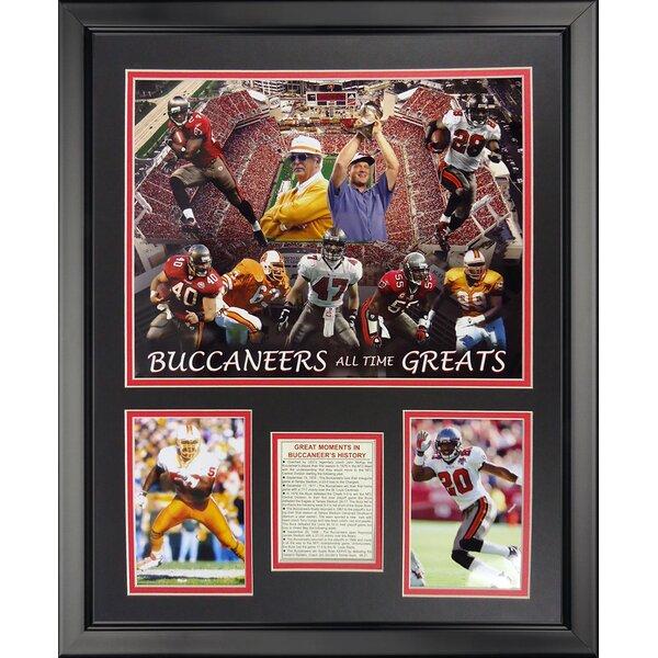 NFL Tampa Bay Bucaneers - Bucaneers Greats Framed Memorabili by Legends Never Die