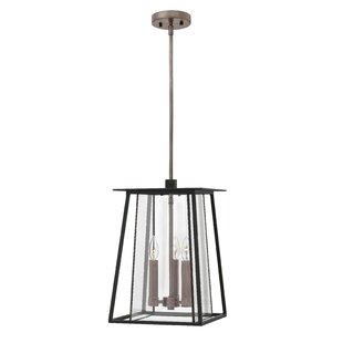Reviews Walker 3-Light Outdoor Hanging Lantern By Hinkley Lighting
