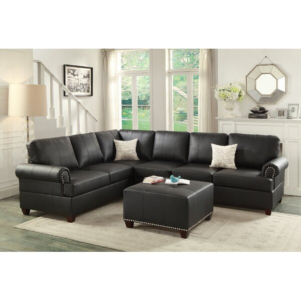 Best #1 Follett Sectional With Ottoman By Red Barrel Studio Read Reviews