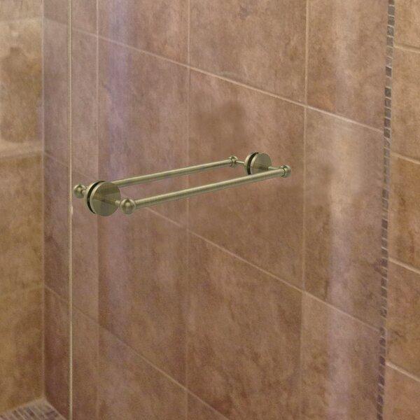 Prestige Skyline Shower Door Wall Mounted Towel Bar by Allied Brass