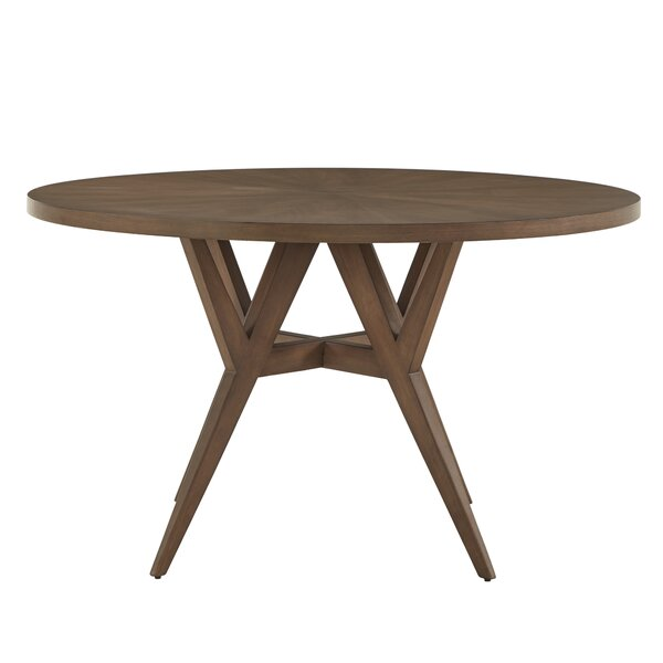 Veronika Solid Wood Dining Table by Wrought Studio