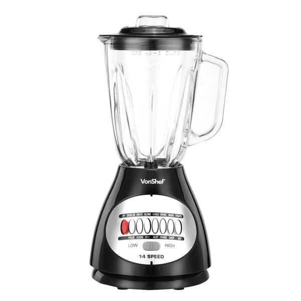 Premium 14 Speed 450W Blender by VonShef