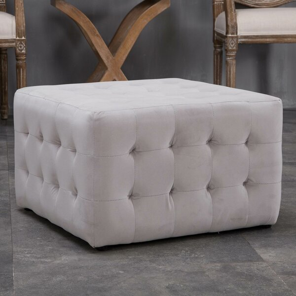 Bridgeview Ottoman by Alcott Hill