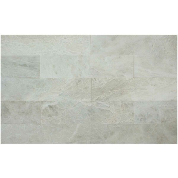 3 x 12 Marble Subway Tile in Iceberg by Ephesus Stones