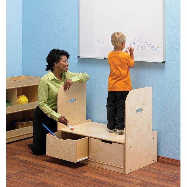 2 Compartment Teaching Cart by Childcraft2 Compartment Teaching Cart by Childcraft