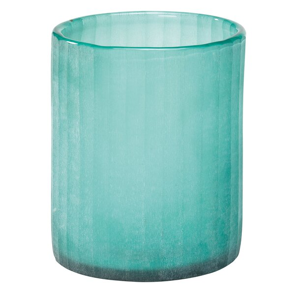 Seaglass Candle Hurricane (Set of 3) by Highland Dunes