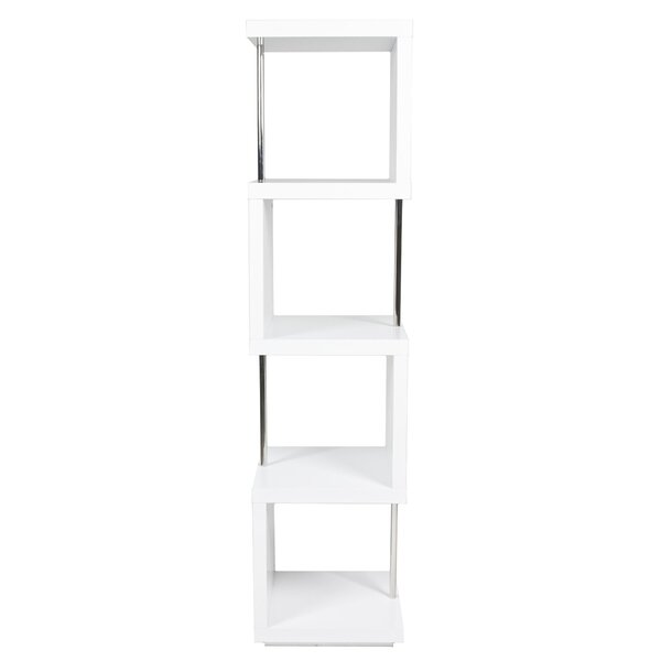 Janice Geometric Bookcase by Wade Logan