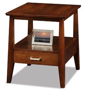 Hazleton End Table With Storage