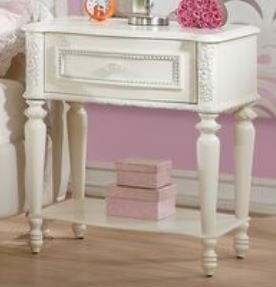 Ector 1 Drawer Nightstand by Harriet Bee