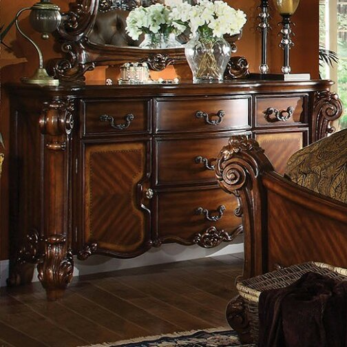JV 5 Drawer Combo Dresser by A&J Homes Studio