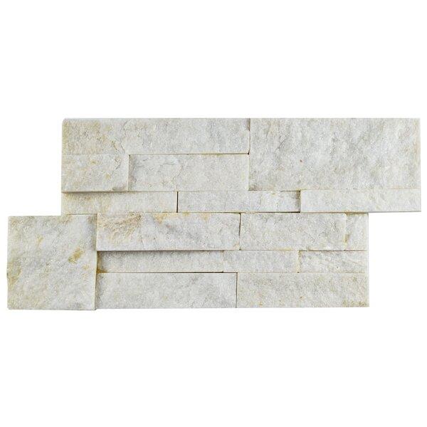 Piedro 7 x 13.5 Natural Stone Splitface Tile in Gray by EliteTile